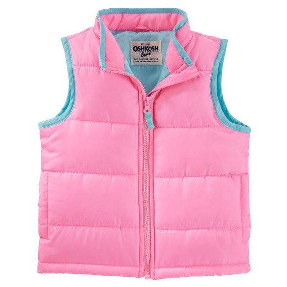 Oshkosh quilted puffer vest