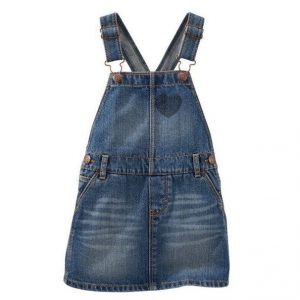 Removed patch denim jumper – ravine blue