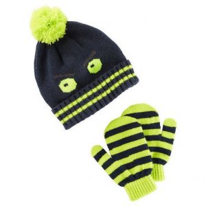 Hat & mittens set