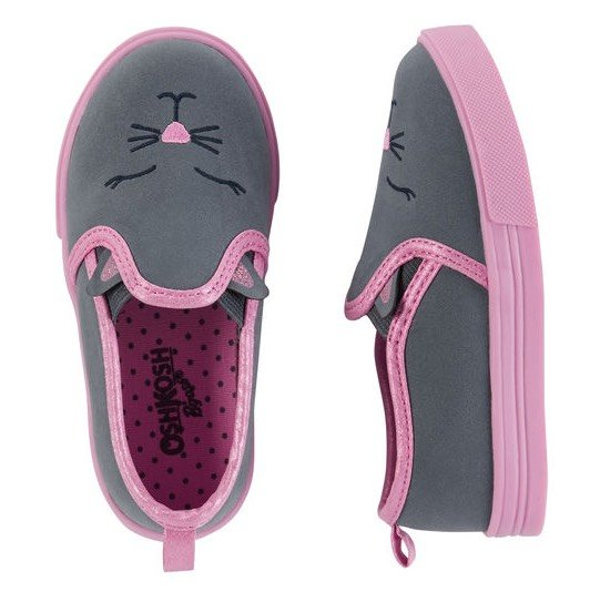 Oshkosh kitty slip-on loafers