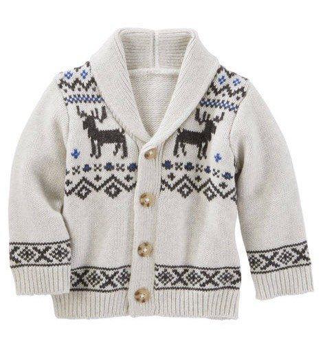 French terry shawl collar cardigan